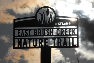 East Brush Creek Nature Trail Sign